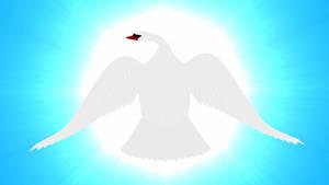 Swan Against the Sun by ManyardButler