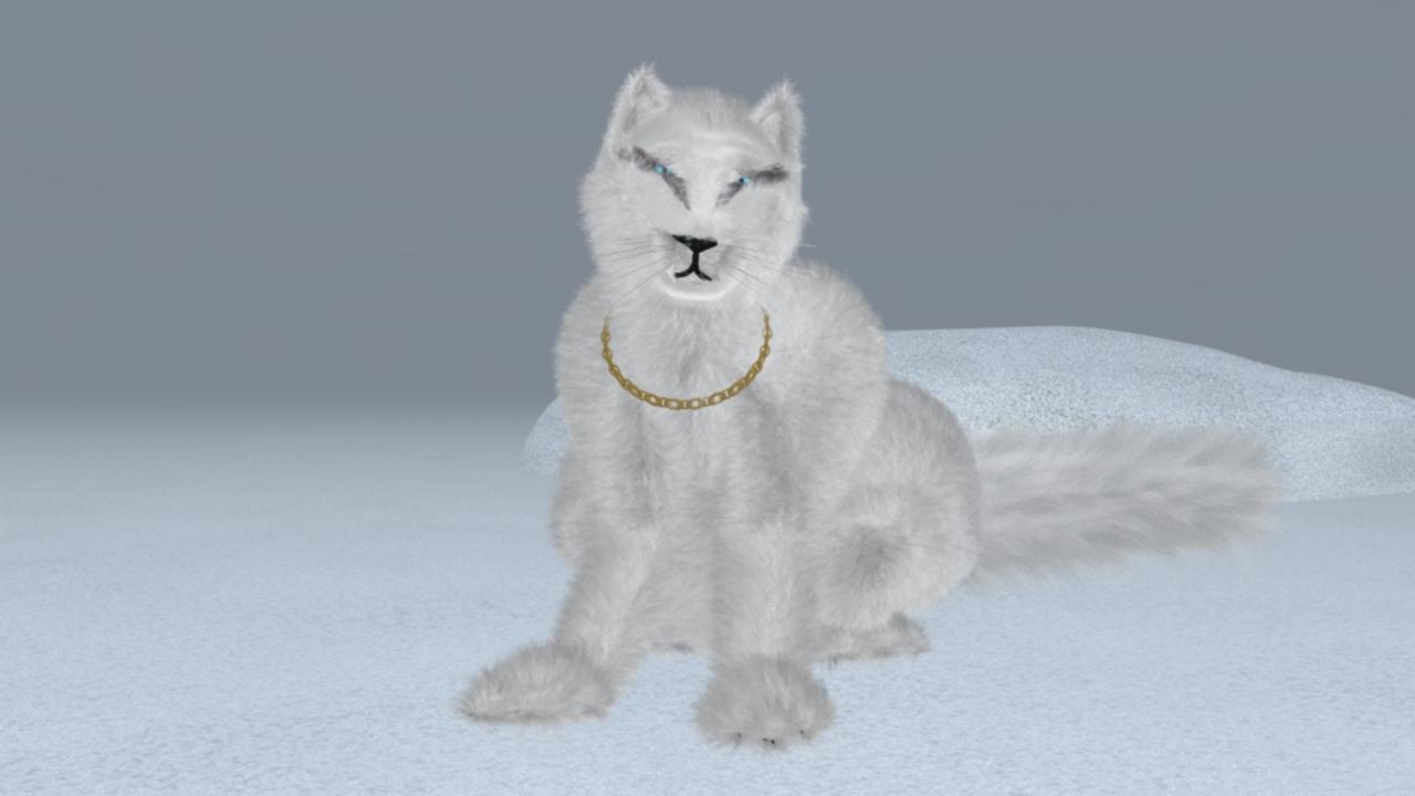 Big Bling Kitty by ManyardButler