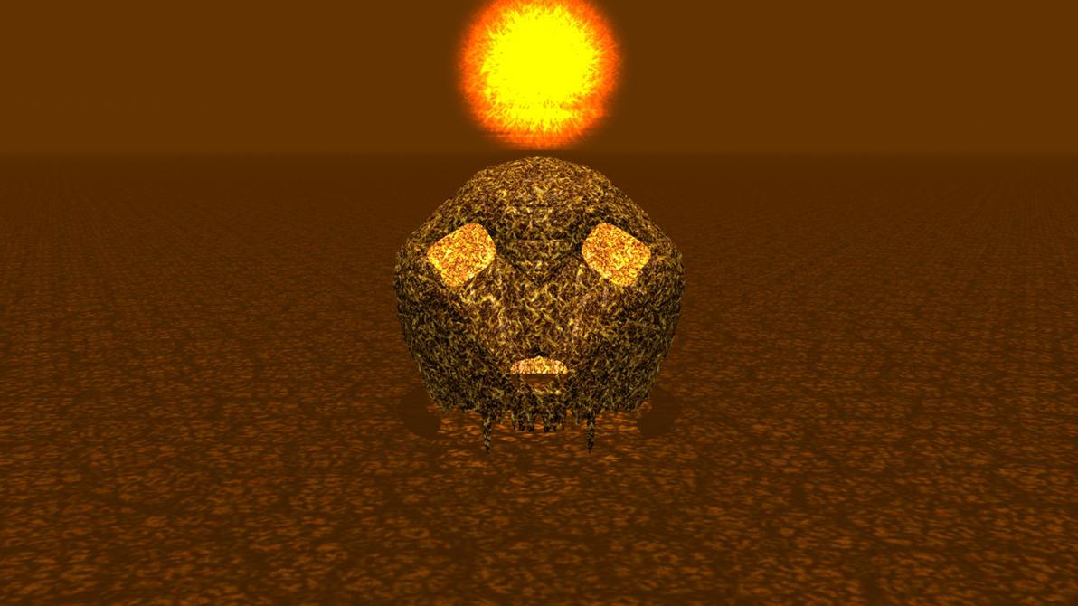 Desert Skull by ManyardButler