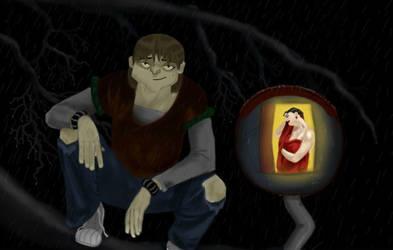 Toad and Wanda - Watchin' ya by QueenAvalanche