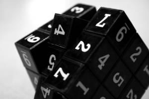 Rubik's Cube II by hachii8