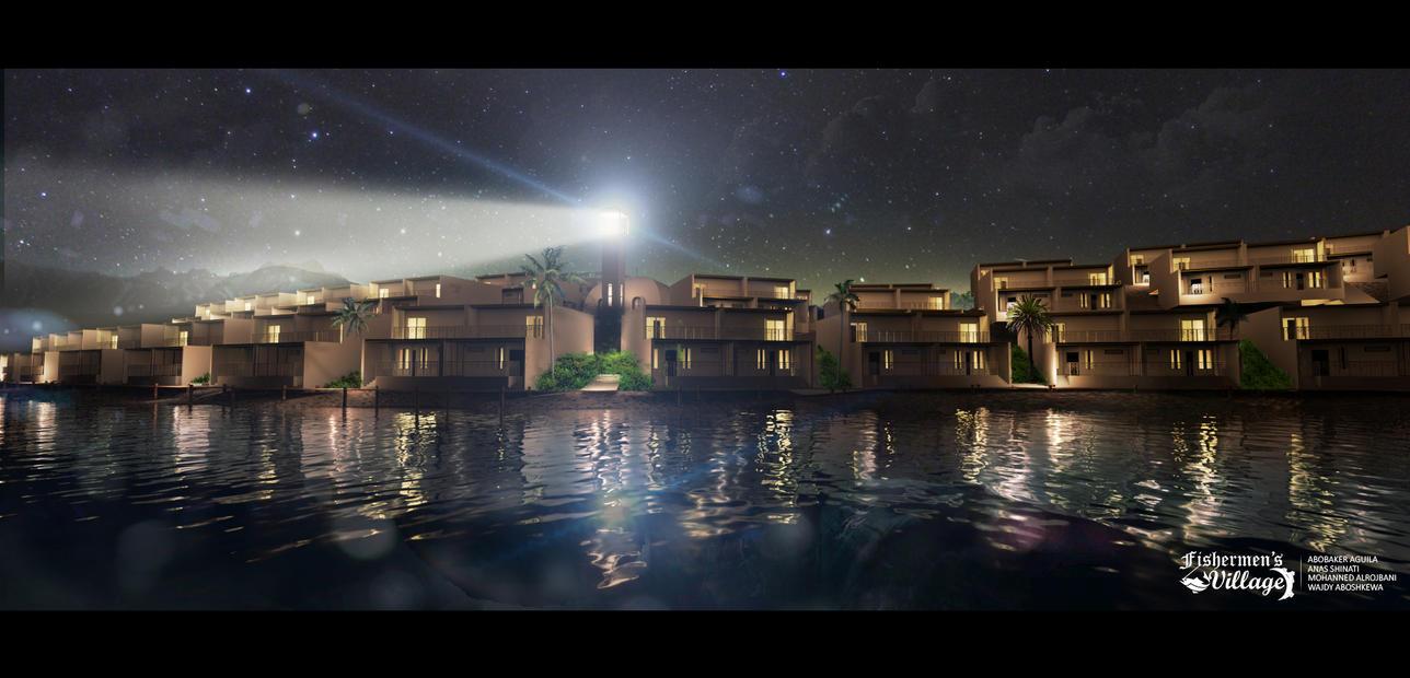Night Perspective by AShinati