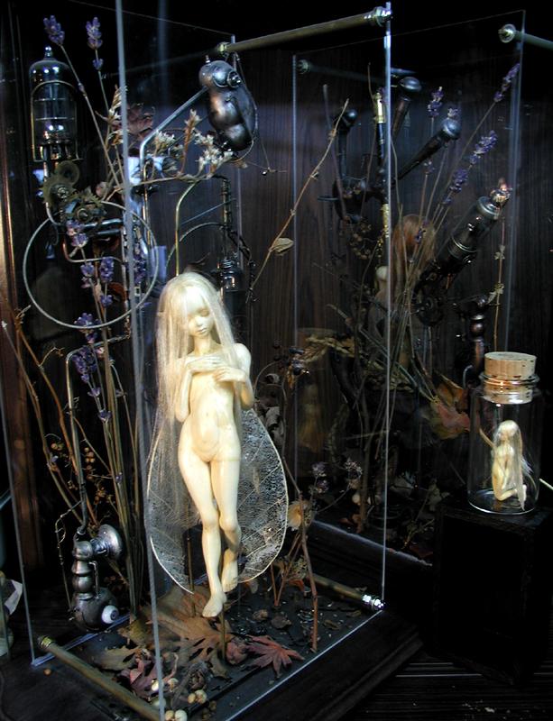 Fairy in flower and alchemy 06 by DensenManiya