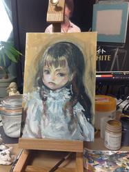 Portrait of lady Y by DensenManiya