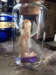 Bottle fairy 02 by DensenManiya