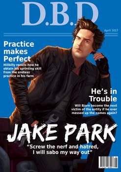 Dead by Daylight Magazine cover - JakePark