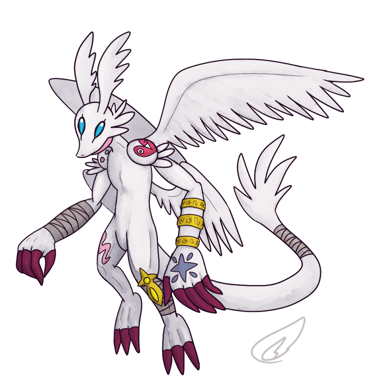 Angedramon by theIggyness