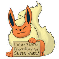 Pokemon Shaming: Flareon by theIggyness
