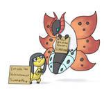 Pokemon Shaming: Helioptile and Volcarona