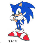 Sonic by Marco-the-Scorpion