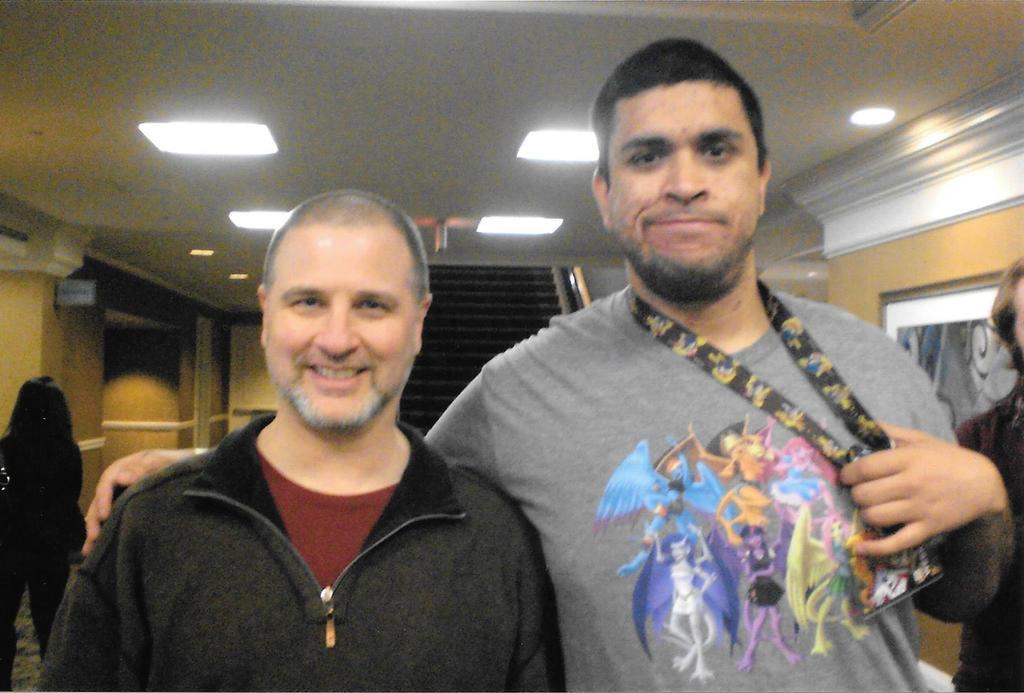 Me and Greg Weisman