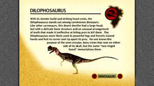 JP Dilophosaurus