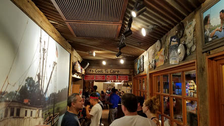 Inside Bubba Gump Restaurant by Marco-the-Scorpion