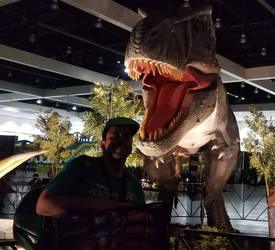 Me and T-REX.