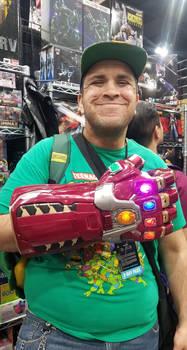 Behold, Iron Infinity Gauntlet