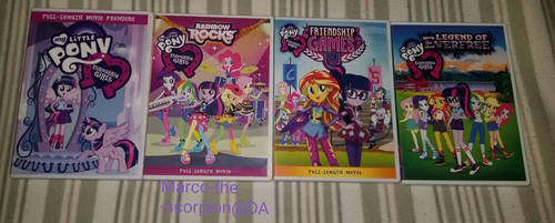 MLP: Equestria Girls Movie Collection.