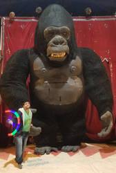 Me and King Kong at the Circus!