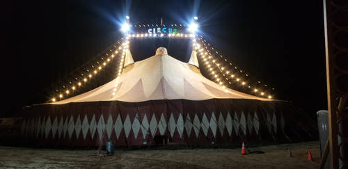 The Circus Tent.