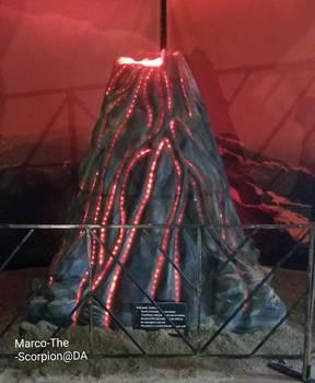 The Erupting Volcano.