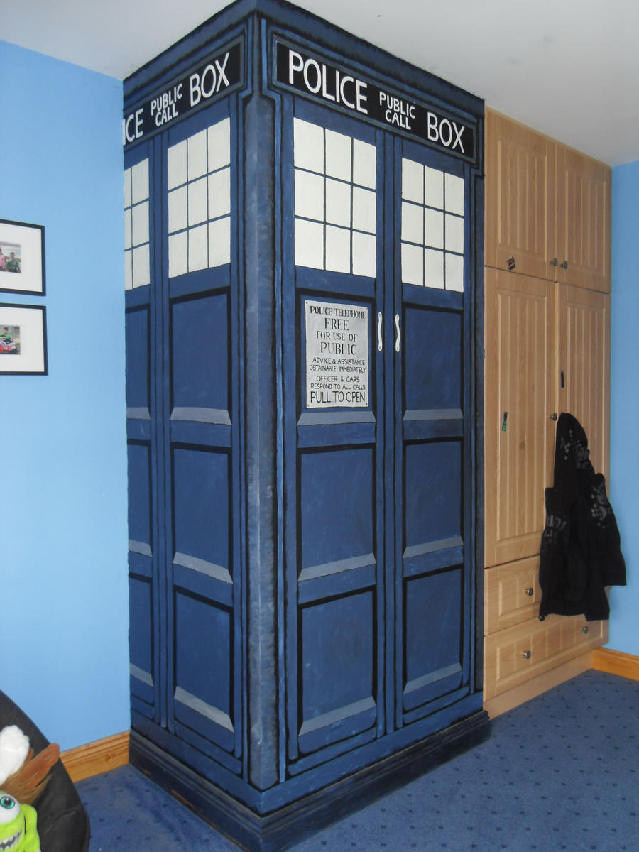 Tardis wall by sorcha surk sorkie on DeviantArt