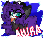 Ahira Stamp by Cotton-Queen