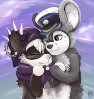 Ginkyu et Miwakiko by Mogueta
