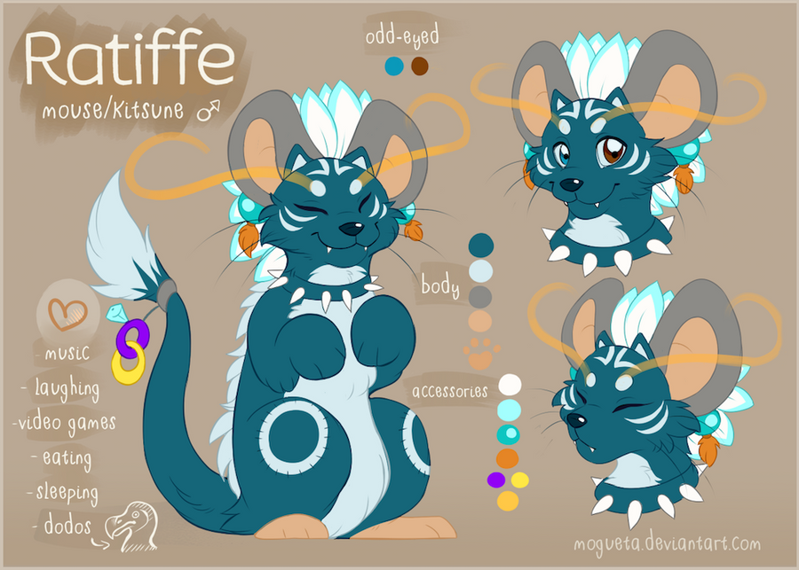Ratiffe's reference by Mogueta