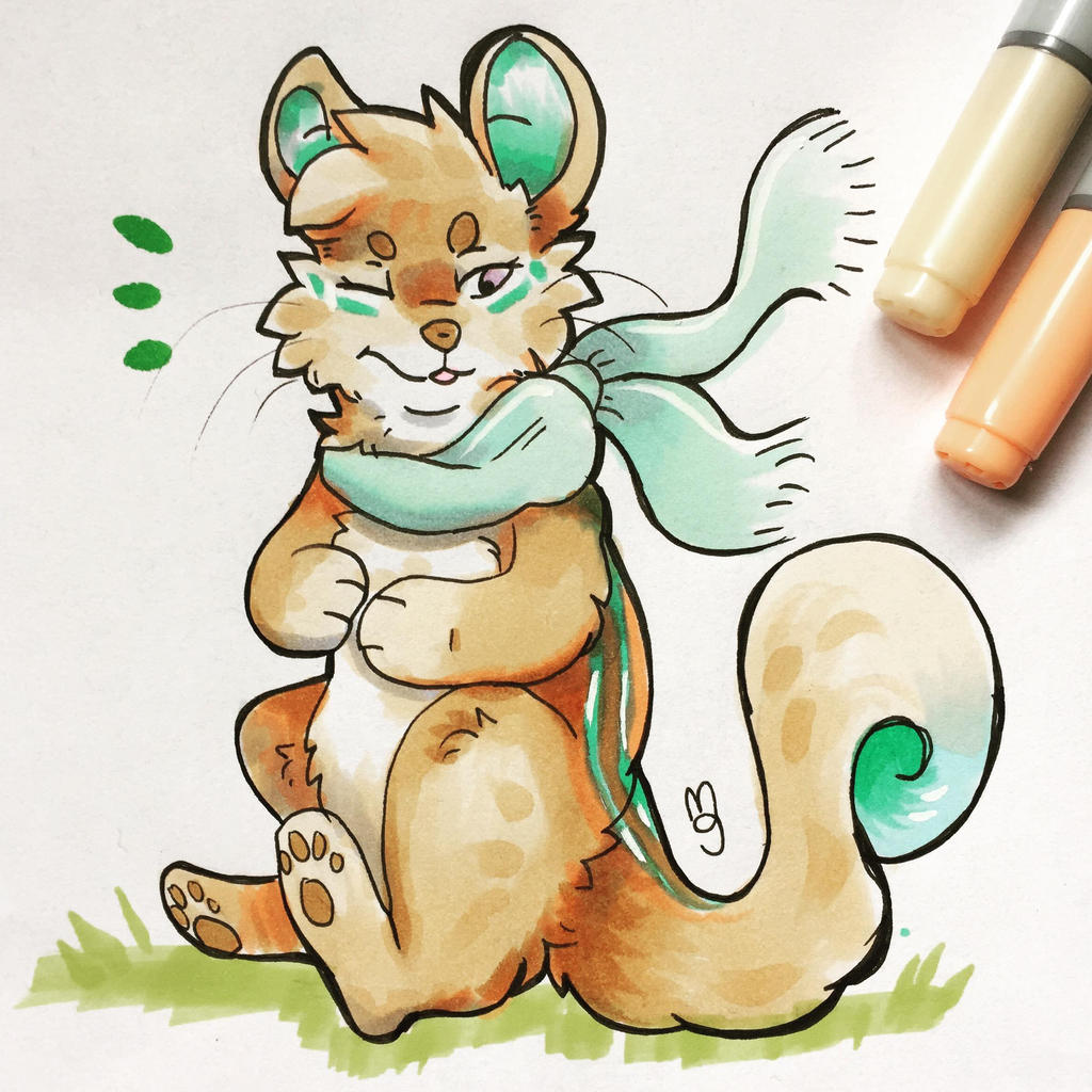 Squirrel by Mogueta