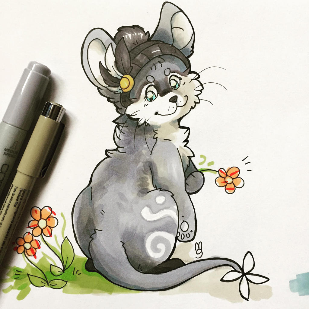 Little mouse by Mogueta