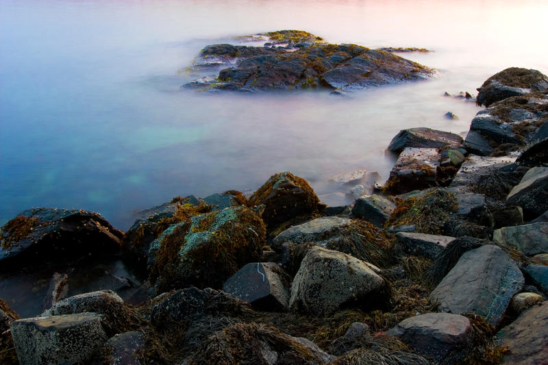 Dusk at Caponigro's Rocks by Delacorr