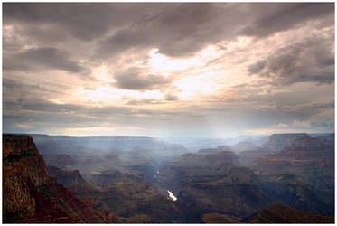 Canyon Light by Delacorr
