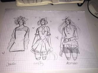morrrreeee sketcheees by JasminTheSinnerx3