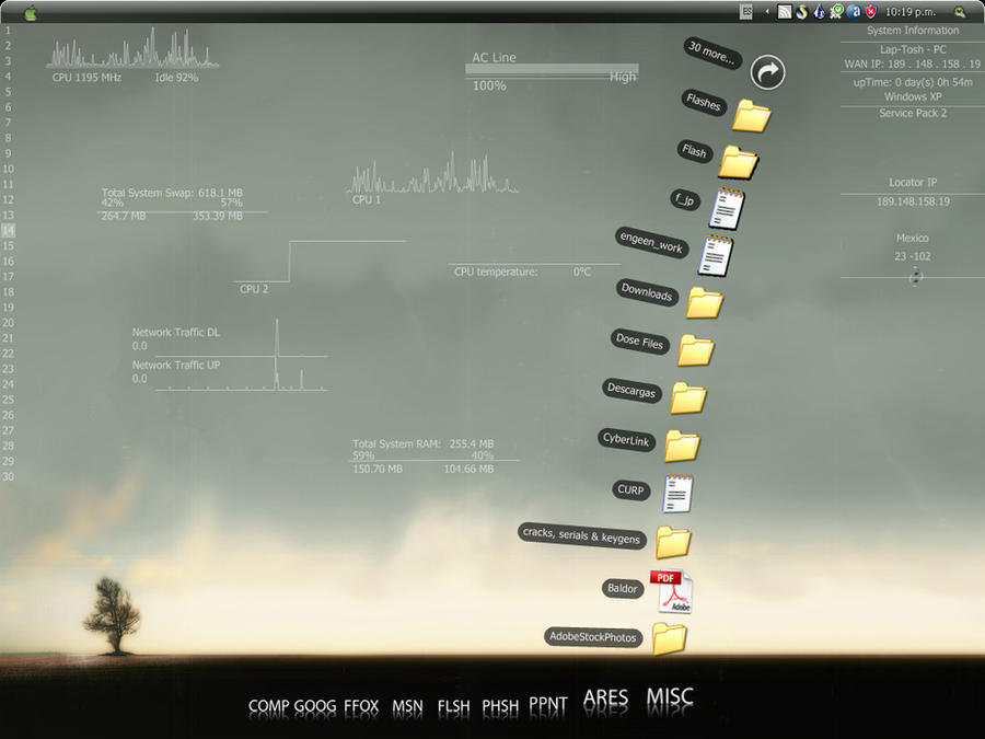 Tutorial -Pimp my Desktop- by Pencil4artists
