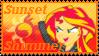 Equestria Girls Sunset Shimmer Stamp