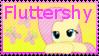 MLP Fluttershy Stamp