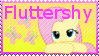 MLP Fluttershy Stamp by Knightmare-Moon