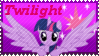 MLP Twilight Stamp by Knightmare-Moon