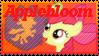 Applebloom Stamp by Knightmare-Moon