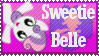 Sweetie Belle Stamp by Knightmare-Moon