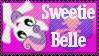 Sweetie Belle Stamp by Knightmare-Moon