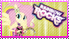 Rainbow Rocks Fluttershy Stamp by Knightmare-Moon