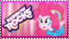 Rainbow Rocks Pinkie Pie Stamp by Knightmare-Moon