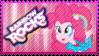 Rainbow Rocks Pinkie Pie Stamp by Knightmare-Moon