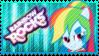Rainbow Rocks Rainbow Dash Stamp by Knightmare-Moon