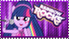 Rainbow Rocks Twilight Stamp by Knightmare-Moon