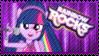 Rainbow Rocks Twilight Stamp by Knightmare-Moon