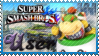 SSB Bowser Jr Stamp by Knightmare-Moon
