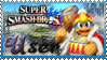 SSB Dedede Stamp by Knightmare-Moon