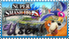 SSB Duck Hunt Stamp