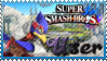 SSB Falco Stamp by Knightmare-Moon